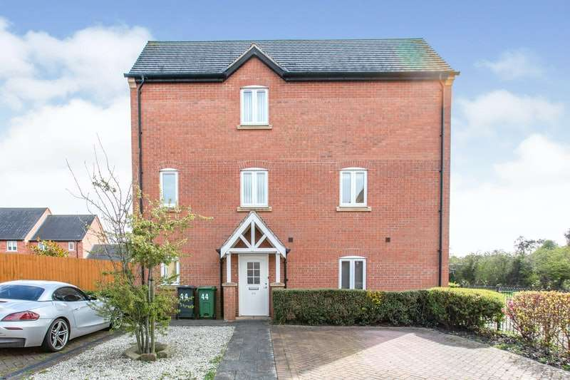 3 Bedrooms End Of Terrace House for sale in Highland Drive, Loughborough, Leicestershire, LE11