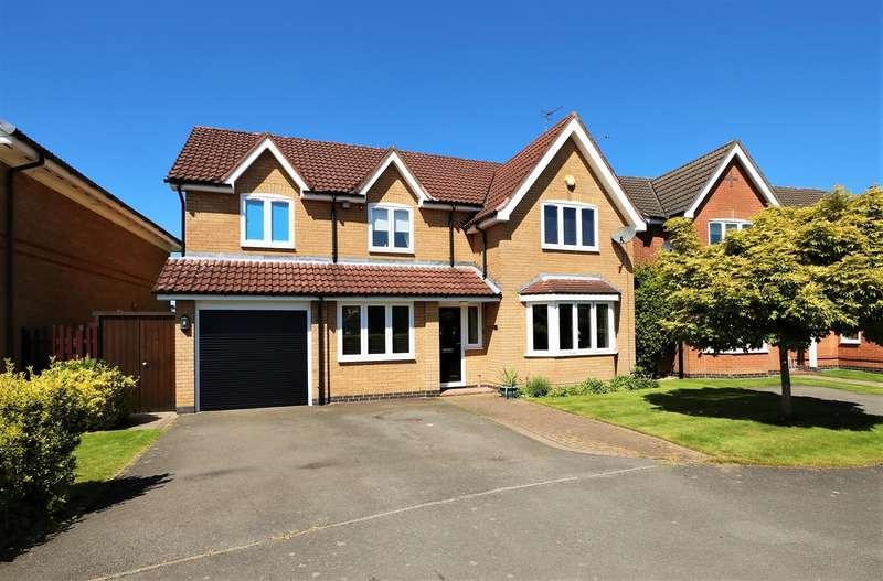 5 Bedrooms Detached House for sale in Lockton Close, Ashby-De-La-Zouch, LE65 1AY