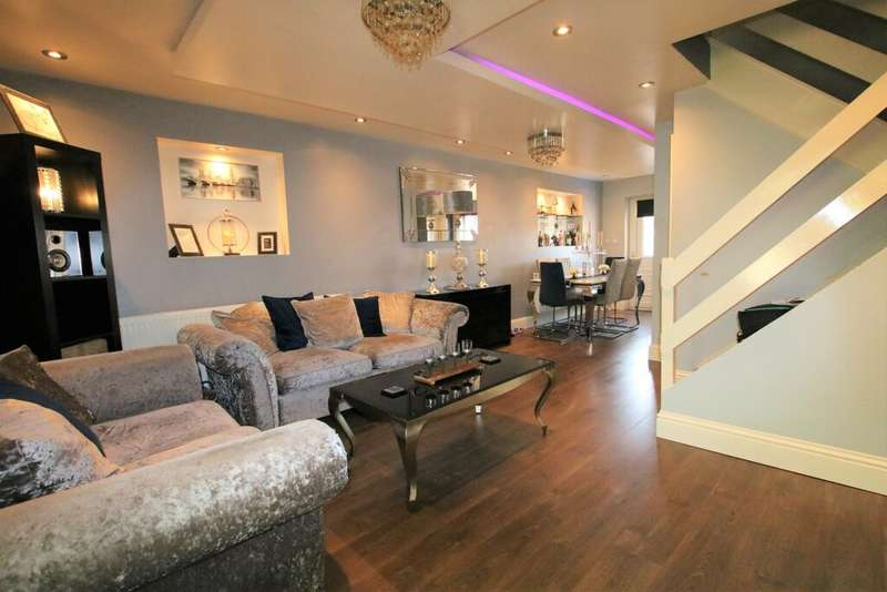 3 Bedrooms Town House for sale in Springbank Terrace, Mill Hill, Blackburn