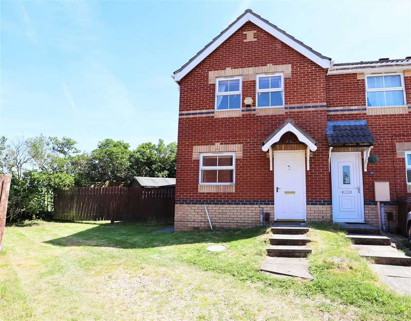 3 Bedrooms Semi Detached House for sale in Lupin Road, Lincoln