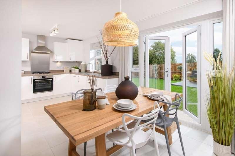 4 Bedrooms House for sale in Kingsley, Barratt Homes at Bourne, Haydock Park Drive, Bourne, BOURNE, PE10 0WJ