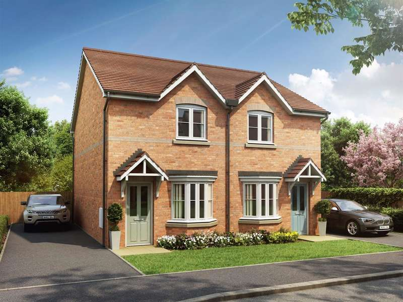 2 Bedrooms Terraced House for sale in Plot 17 - 30 Riverside Road, Rufford, Ormskirk