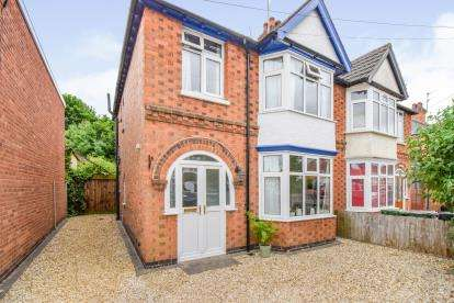 3 Bedrooms Semi Detached House for sale in Burleigh Avenue, Wigston, Leicestershire