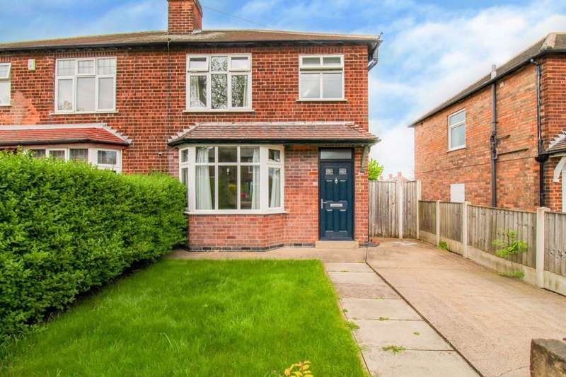 3 Bedrooms Semi Detached House for rent in Central Avenue, Beeston, Nottingham, NG9 2QU