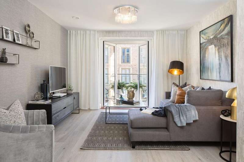 1 Bedroom Flat for sale in Bluebell House, Springfield Place, Glenburnie Road, Tooting (Wandsworth), LONDON, SW17 7DJ