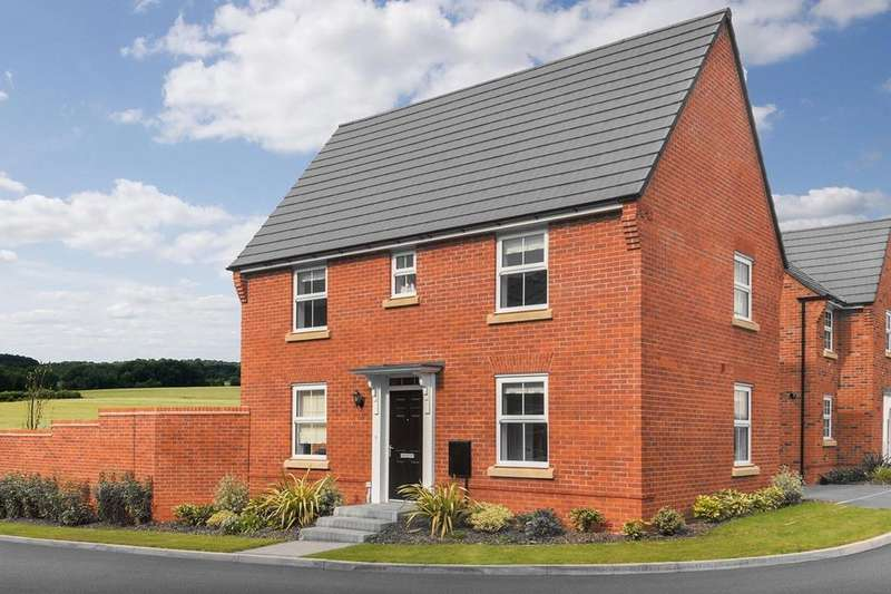 3 Bedrooms House for sale in Hadley, Fleckney Fields, Kilby Road, Fleckney, LEICESTER, LE8 8BP