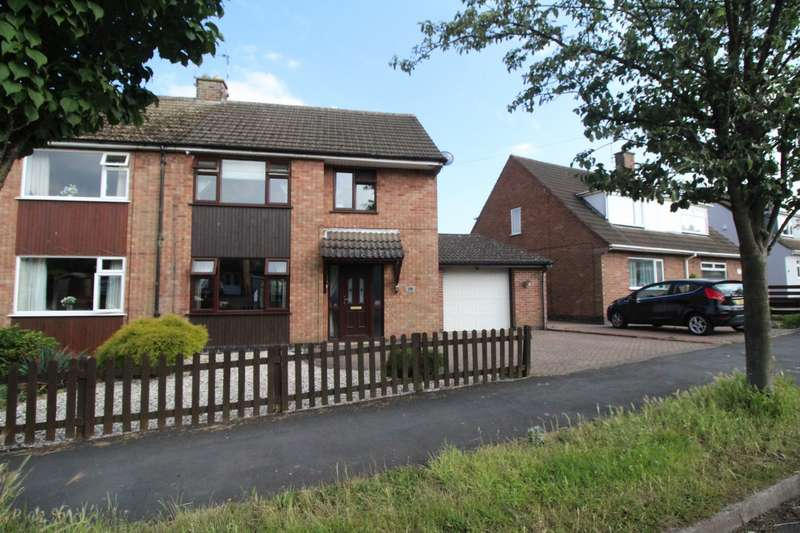 3 Bedrooms Semi Detached House for sale in Cedar Road, Earl Shilton, Leicester, Leicestershire, LE9