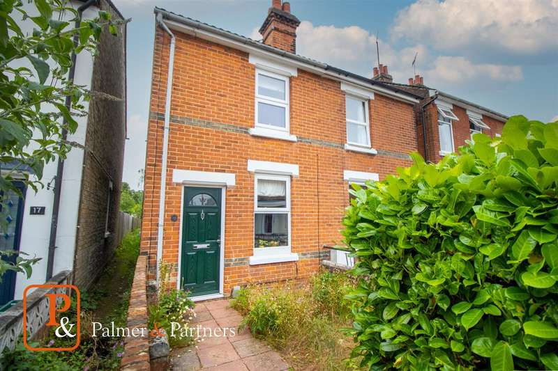 2 Bedrooms Semi Detached House for sale in Bourne Road, New Town, Colchester CO2