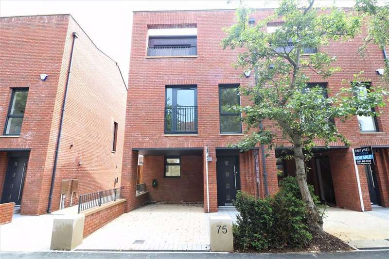 5 Bedrooms End Of Terrace House for sale in 75 Burton Road, West Didsbury, Manchester, M20