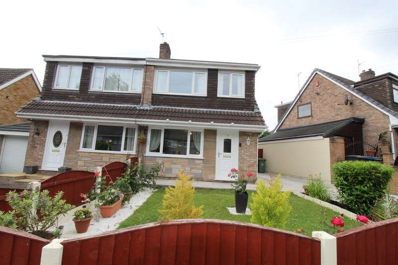 3 Bedrooms Semi Detached House for sale in Monmouth Crescent, Wigan, Greater Manchester, WN4