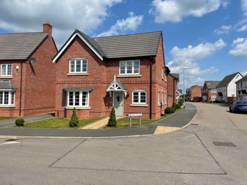 4 Bedrooms Detached House for rent in Moat Close, Newbold Verdon
