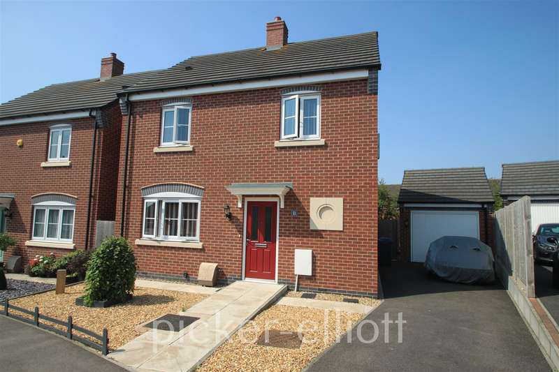 3 Bedrooms Detached House for sale in Oronsay Close, Hinckley