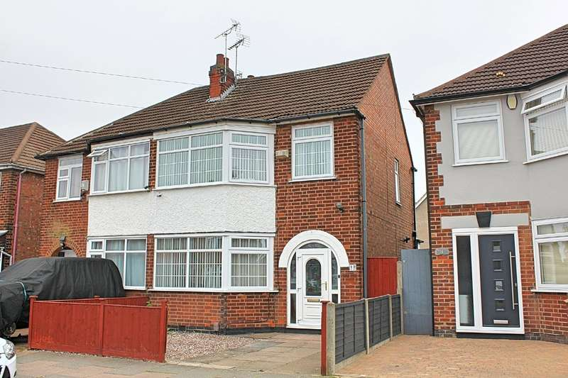 4 Bedrooms Semi Detached House for sale in Trenant Road, Leicester