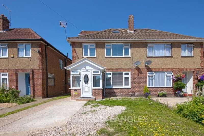 4 Bedrooms Semi Detached House for sale in Hillary Road, Langley, SL3