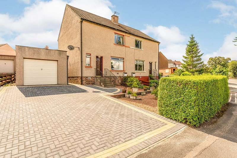 3 Bedrooms Semi Detached House for sale in Gellatly Road, Dunfermline, Fife, KY11