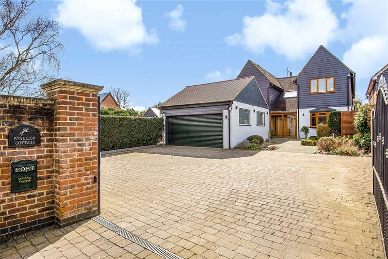 5 Bedrooms Detached House for sale in Epping Road, Nazeing, Waltham Abbey, Essex, EN9