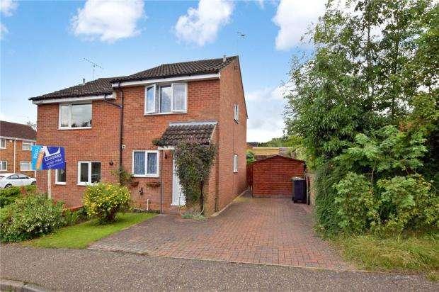 2 Bedrooms Semi Detached House for sale in Acorn Avenue, Halstead, Essex