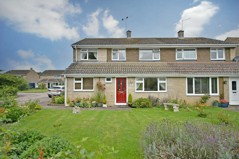 4 Bedrooms Semi Detached House for sale in Wakefield Close, Kempsford