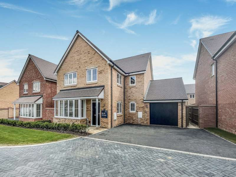 4 Bedrooms Detached House for sale in Brook View, Houghton Conquest, Bedford, MK45