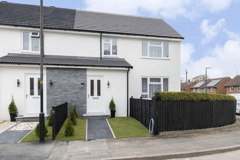 3 Bedrooms End Of Terrace House for sale in Gwernant Road, Cheltenham GL51 3EU
