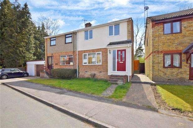 3 Bedrooms Semi Detached House for sale in Park Vale Close, Castle Hedingham, Halstead
