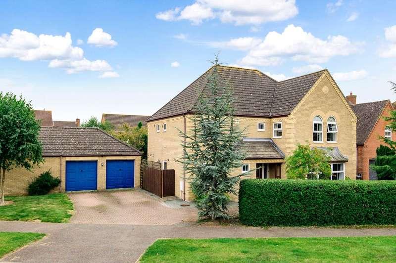 4 Bedrooms Detached House for sale in Deep Spinney, Biddenham