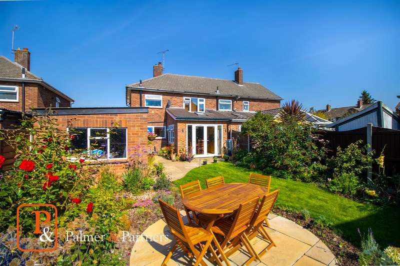 3 Bedrooms Semi Detached House for sale in Rowan Close, Stanway, Colchester, CO3