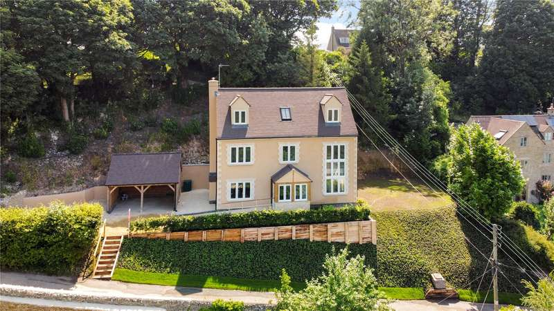 5 Bedrooms Detached House for sale in Eastcombe, Stroud, Gloucestershire, GL6
