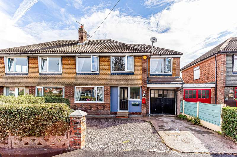 4 Bedrooms Semi Detached House for sale in Lock Lane, Partington, Manchester, M31