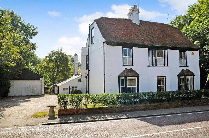 4 Bedrooms Detached House for sale in The White House, 59 High Street, Stock