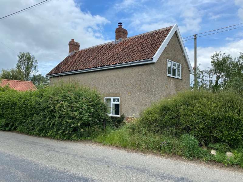 3 Bedrooms Detached House for sale in 3 Maddles Cottages, Beccles Road, Raveningham, Norwich, Norfolk
