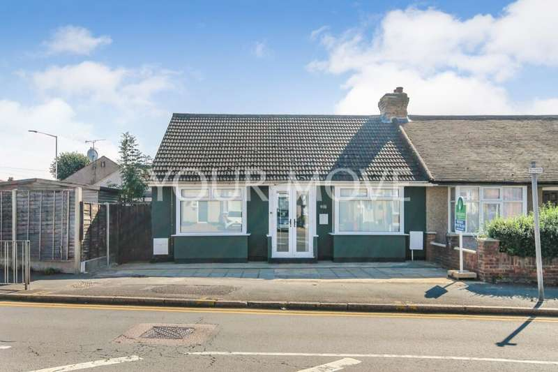 3 Bedrooms Semi Detached Bungalow for sale in Collier Row Lane, Romford, RM5