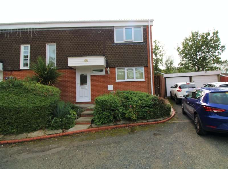 3 Bedrooms Semi Detached House for sale in Leeswood, Skelmersdale, Cheshire, WN8