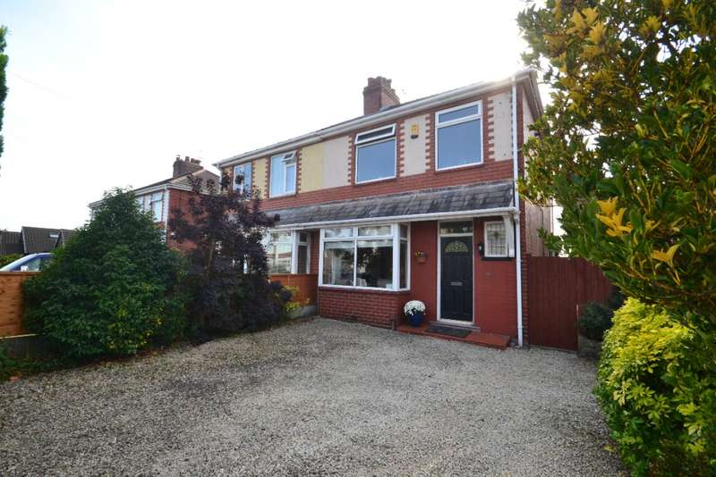 3 Bedrooms Semi Detached House for sale in Springfield Road, Springfield, Wigan, WN6 7RD