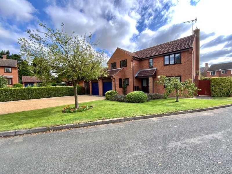 4 Bedrooms Detached House for sale in Church Lea, , Burton Lazars, LE14 2UB