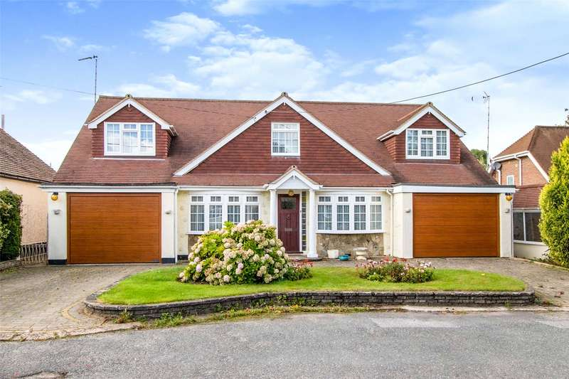 5 Bedrooms Detached House for sale in Mount Pleasant Avenue, Hutton, Brentwood, Essex