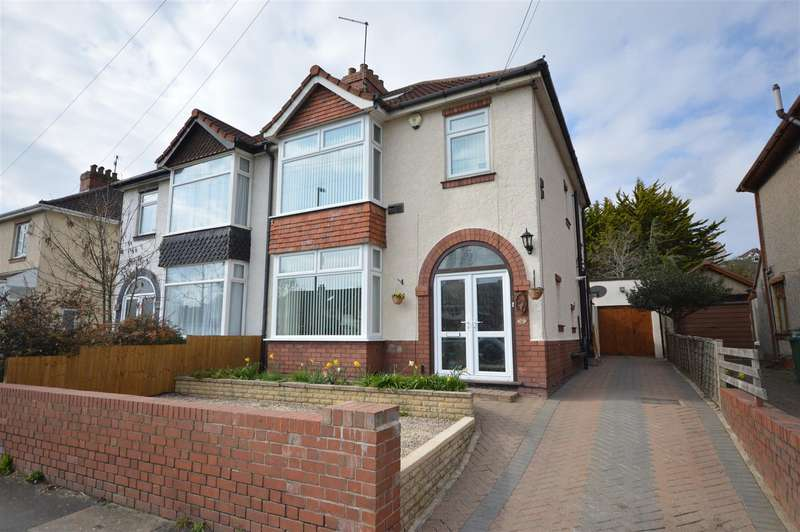 4 Bedrooms Semi Detached House for sale in Wootton Park, Knowle, Bristol