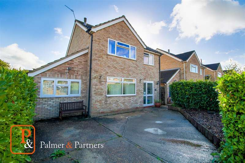 4 Bedrooms Detached House for sale in Winstree Close, Layer De La Haye, Colchester, CO2