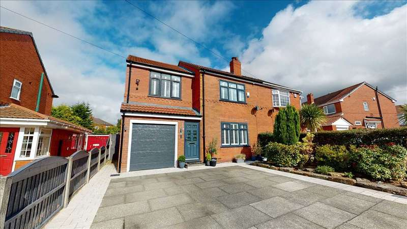 3 Bedrooms Semi Detached House for sale in Cornwall Avenue, Over Hulton