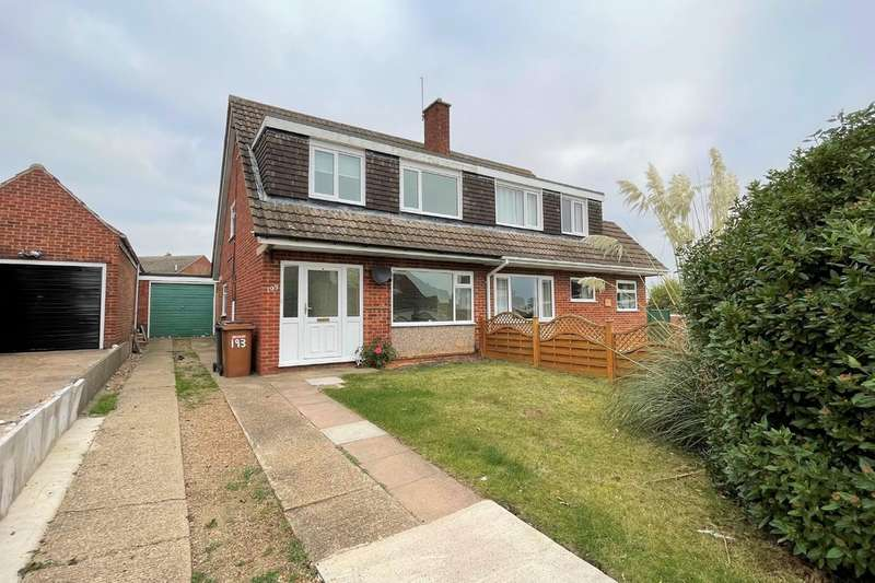3 Bedrooms Semi Detached House for rent in Grange Drive, Melton Mowbray