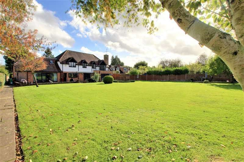 5 Bedrooms Detached House for sale in Tidmarsh, Reading, RG8