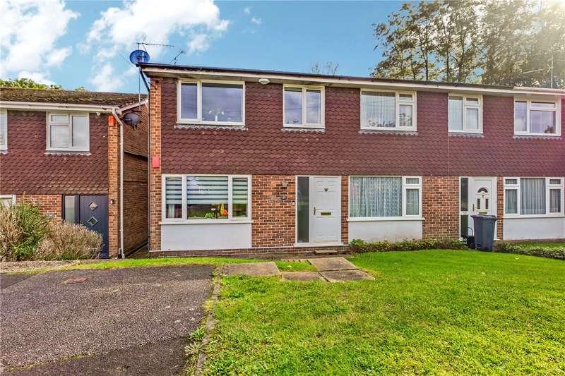 3 Bedrooms End Of Terrace House for sale in Dalton Close, Tilehurst, Reading, RG30