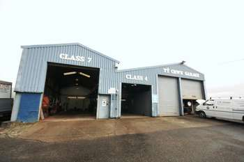 Property for sale in Ty Crwn Garage, Gaerwen