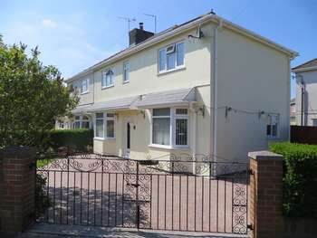 3 Bedrooms Semi Detached House for sale in Coychurch Road Gardens, Bridgend