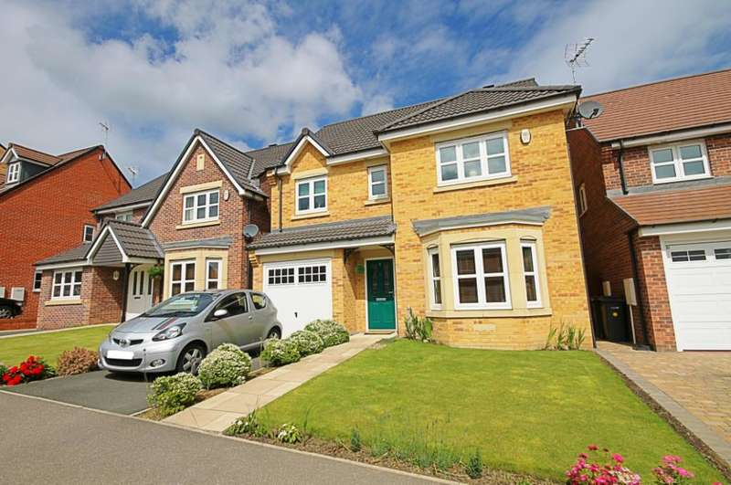 4 Bedrooms Detached House for sale in Youens Crescent, Newton Aycliffe, Darlington, DL5
