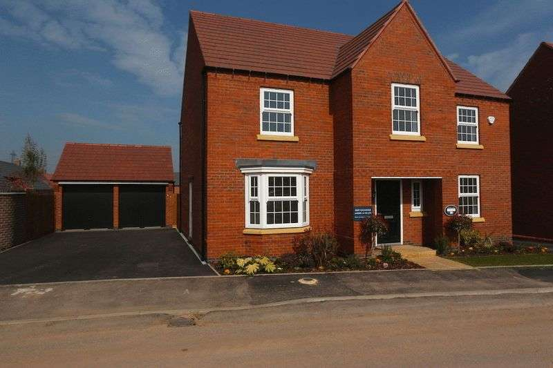 4 Bedrooms Detached House for sale in Plot 210, The Winstone, Glenfield Park, Kirby Road, Glenfield