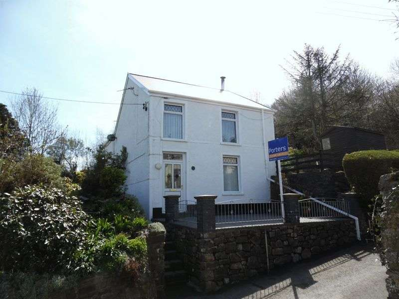 3 Bedrooms Detached House for sale in Alma Terrace Aberkenfig Bridgend CF32 9AL