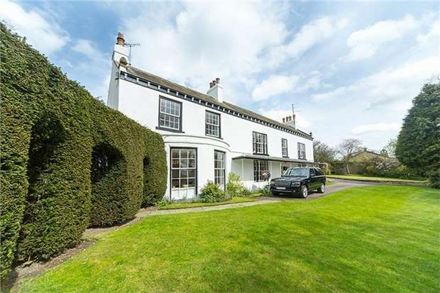 6 Bedrooms Detached House for sale in Witton House, Witton Le Wear, Bishop Auckland, Durham
