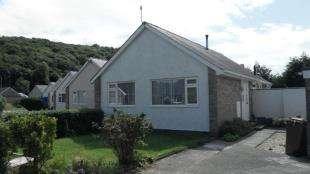 2 Bedrooms Bungalow for sale in Maes Trefor, Talsarnau, Gwynedd, LL47