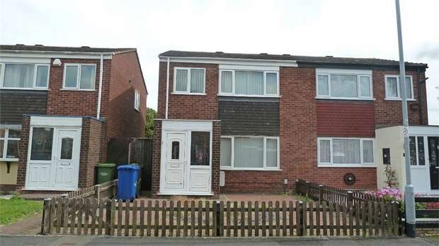 3 Bedrooms Semi Detached House for sale in Colbrook, Tamworth, Staffordshire